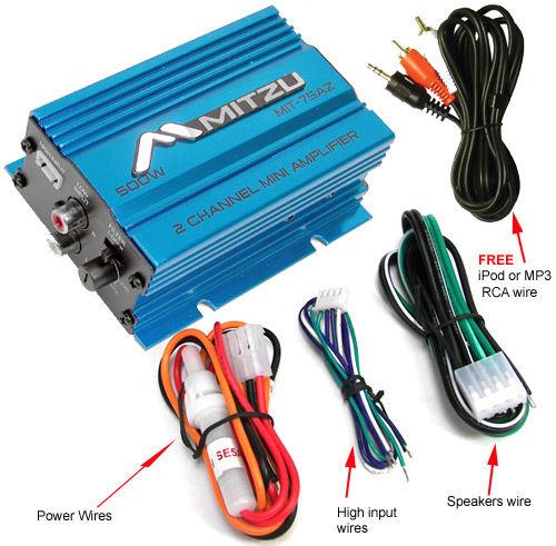 Mitzu MIT-75AZ Amplifier